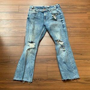 Light blue Zara Basic 1975 Denim jeans size 6